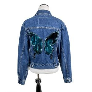 Levi's Made in the USA Butterfly Trucker Jacket
